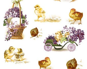 Easter Decoupage Rice paper #R825