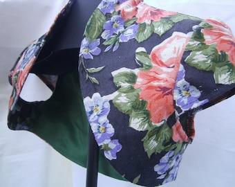 Bolero, Women, floral Bolero ,  Linen Bolero ,  Bolero Size S ,   short Bolero - romantic Bolero - colourful Bolero