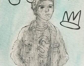 Jughead Jones - Watercolor Postcard