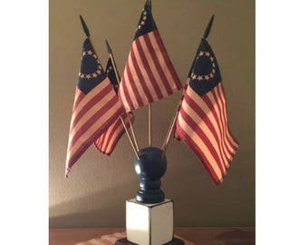 Colonial Flag Finial