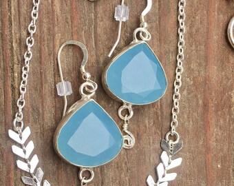 Blue Skies 1 Drop Earrings