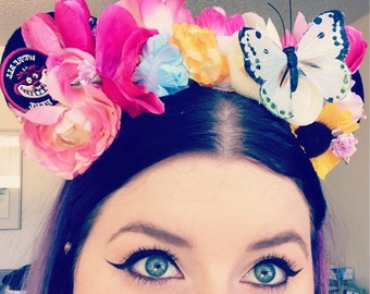 Cheshire Cat Inspired Ears - Alice In wonderland mouse Ears