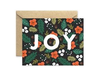 Joy - Greeting Card