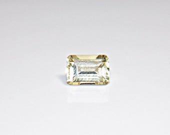 Beryl, Natural Yellow Loose Cut Gemstone