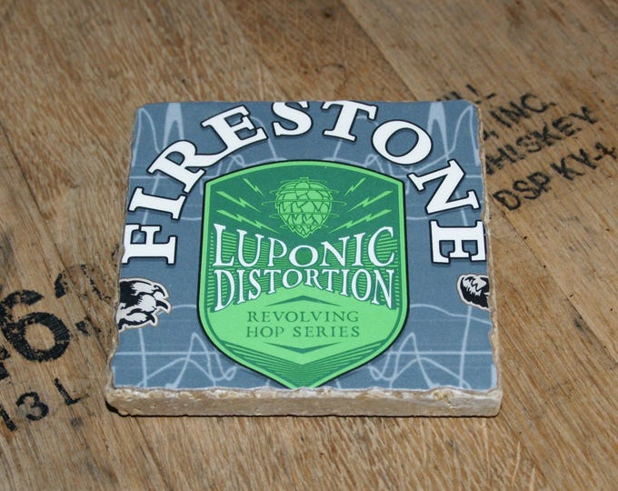 UPcycled Coaster - Firestone Walker - Luponic Distortion