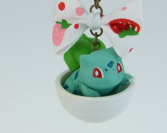 Pokemon Bulbasaur Bulbasaur フシギダネ Cup necklace