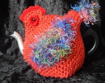 Chicken Tea Cosy. One Cup Tea Pot (small)