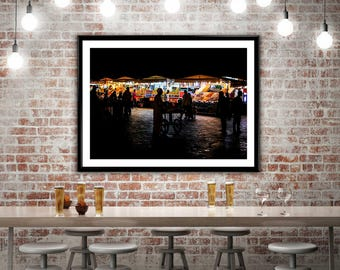 Photography Fine Art - Jemaa el Fna by Night - Marrakech - Morocco