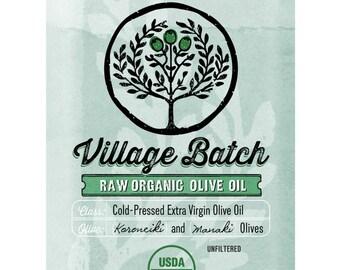 3L Greek Organic Extra Virgin Olive Oil