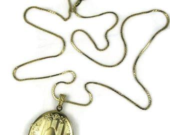 Napier Locket Pendant Necklace