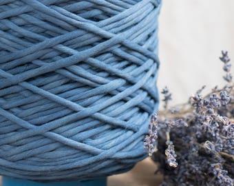 Kobalt Blau String Baumwollkordel / 5mm / Baumwolle Seil / Makramee Seil / Diy Makramee / Super weicher Baumwollseil / weben Seil / Makramee