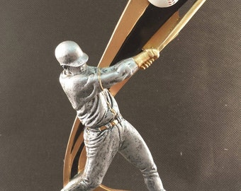 Live Action Baseball Resin Award - Baseball Trophy - Free Engraving - Participation Award