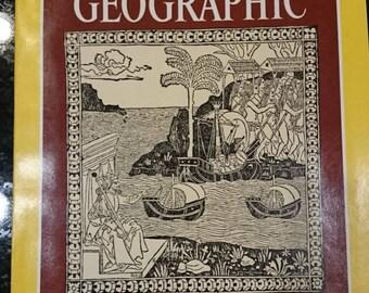 National Geographic/November 1986/Volume 170 No.5/Columbus/Map