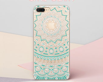 Mandala iPhone 7 case iPhone X Case iPhone 6s iPhone 8 Plus Case iPhone 6 Case Mandala iPhone 6s case iPhone Case iPhone TPU iPhone 8 CG1557