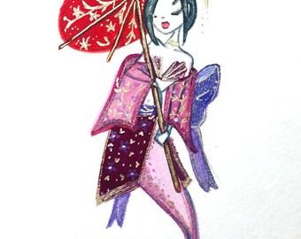 ORIGINAL Asian Inspired Mermay