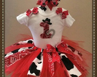 Cowgirl Birthday Outfit, Cowgirl Birthday, Cowgirl Outfit, Cowgirl Dress,  Sizes  9 Months - 4T