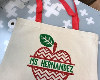 Personalized Teacher Bag