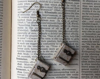 Book Lover Gift | Book Jewelry | Mini Book Earrings | Ancient Tomes | Tiny Books