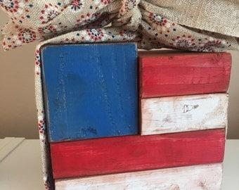 American Flag 2x4 Decoration