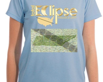 Solar Eclipse, Ladies Tshirt, Eclipse Solar, Solar Eclipse Tennessee, Tennessee Shirts, Tennessee Solar Eclipse, Solar Tennessee, Map Shirt