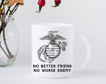 USMC Mug, Marine Mug, Military Mug, Coffee mug, Tea mug, Gift, Cool Mug, Customizeable mug, Coffee Lover, Gift Mug, Birthday gift