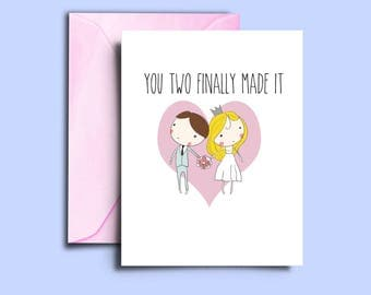 Wedding Wish Cards