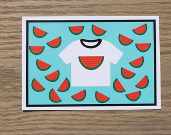 WATERMELON TEE card