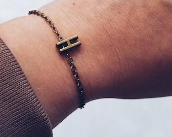 Initial jewelry, initial bracelet, personalized jewelry, personalized bracelet, letter bracelet, letter jewelry, friendship bracelet