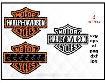 harley davidson SVG Files, harley davidson SVG Cut File, harley davidson Monogram File for Cricut Die Cut Machine Files, Harley davidson png