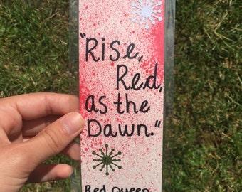 Red Queen Bookmark