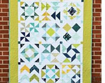 Half-Square Triangle Sampler by Jeni Baker