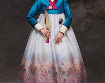 Hanbok. Korean Traditional  Costume. Custom-made KHS-035.