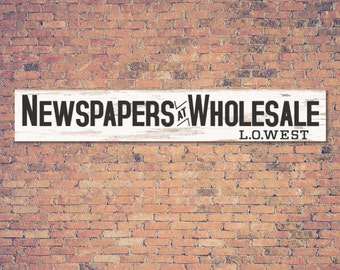Newspapers At Wholesale, Magnolia Farms SVG, Fixer Upper, Joanna Gaines Vector, Digital File, Cuttable, Print, Cut File, Silhouette Cameo