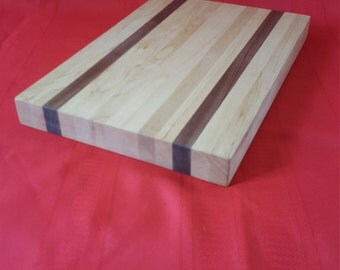 Cutting Board Maple/Walnut Butcher Block