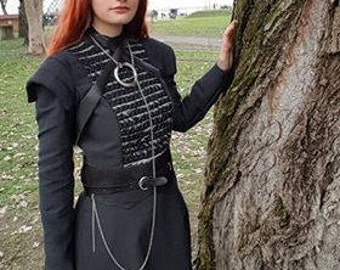 sansa stark game of thrones 7 cosplay costume dress