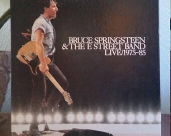 Bruce Springsteen & The E-Street Band - Live / 1975-85 ('86 ORIGINAL BOX SET)