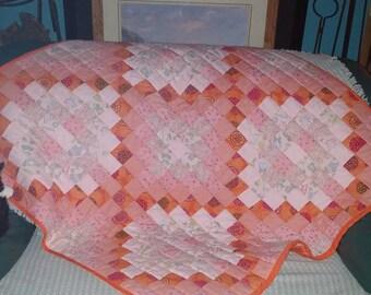 Handmade Quilt, perfect for little girl