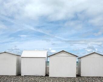 1 beach huts