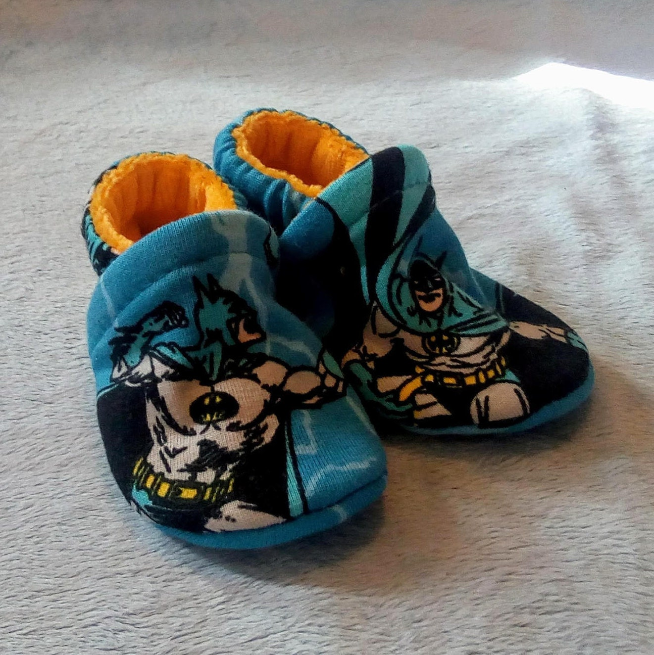 Batman: Soft Sole Baby Shoes 0-3M