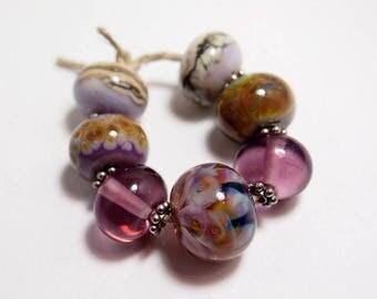 Luminous Handmade Lampwork Glass Beads - Organic Eclectics from Mermaid Glass