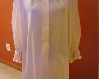 Wonderful Cream Shirt Dress by Distinctly Evelyn Pearson