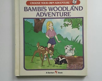 Bambi's Woodland Adventure, Choose Your Own Adventure Book