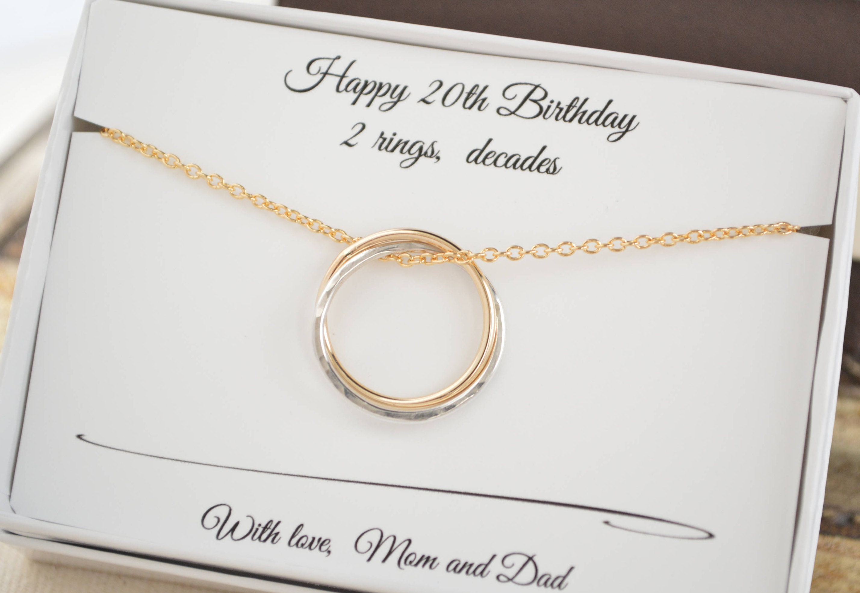 20th Birthday Gift For Her, 2nd Anniversary Gift For Women