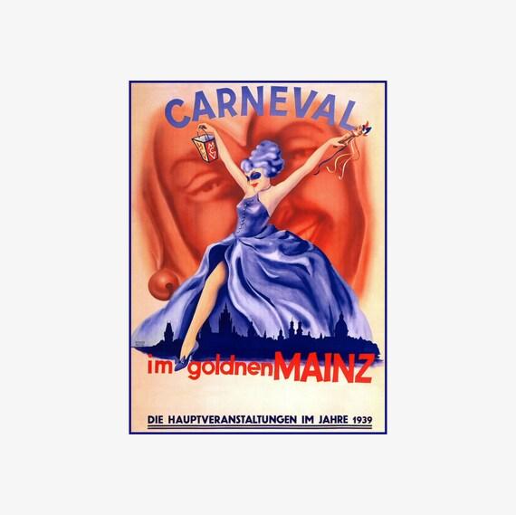 Carneval Im Goldenen Mainz 1939