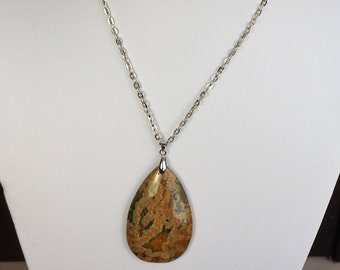 Rhyolite Pendant Necklace