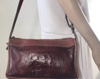 Brahmin Brown Leather Purse, Shoulder Bag, Bag