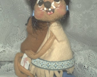 Annalee Mobiltee Indian Squaw with Papoose 1965