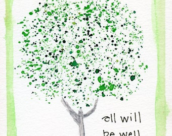 All Will Be Well Greeting Card