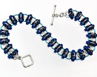 Chainmaille Kit: Celtic Spikes - Bracelet Kit - Intermediate - Instructions sold separately