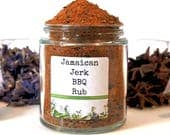 Jamaican Jerk BBQ Rub Caribbean Spice Mix Grilling Seasoning Blend Foodie Chef Cooking Gift
